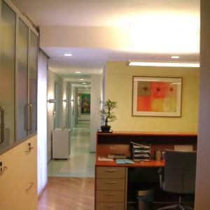 Reception corridoio zona operativa